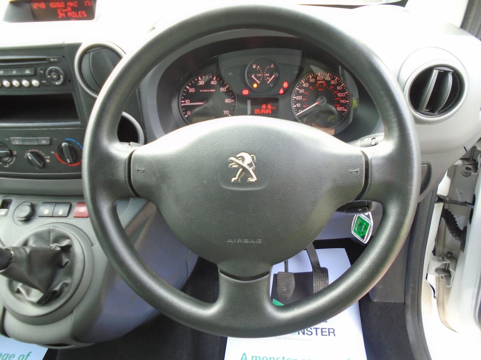 2016 Peugeot Partner 715 S 1.6 Hdi 92 Crew Van (NU66GHB) Image 26