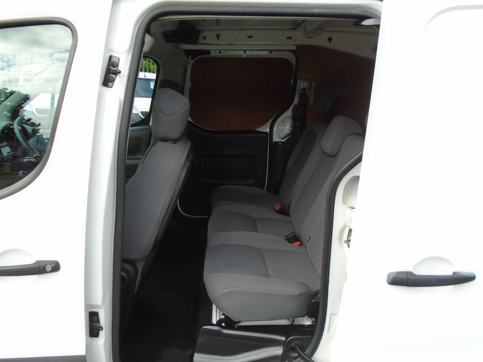 2016 Peugeot Partner 715 S 1.6 Hdi 92 Crew Van (NU66GHB) Image 9
