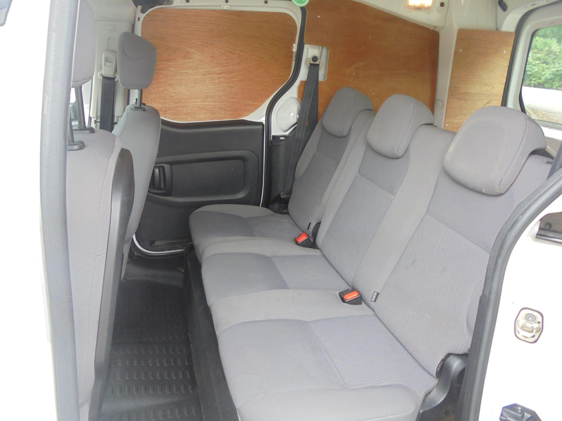 2016 Peugeot Partner 715 S 1.6 Hdi 92 Crew Van (NU66GHK) Image 6
