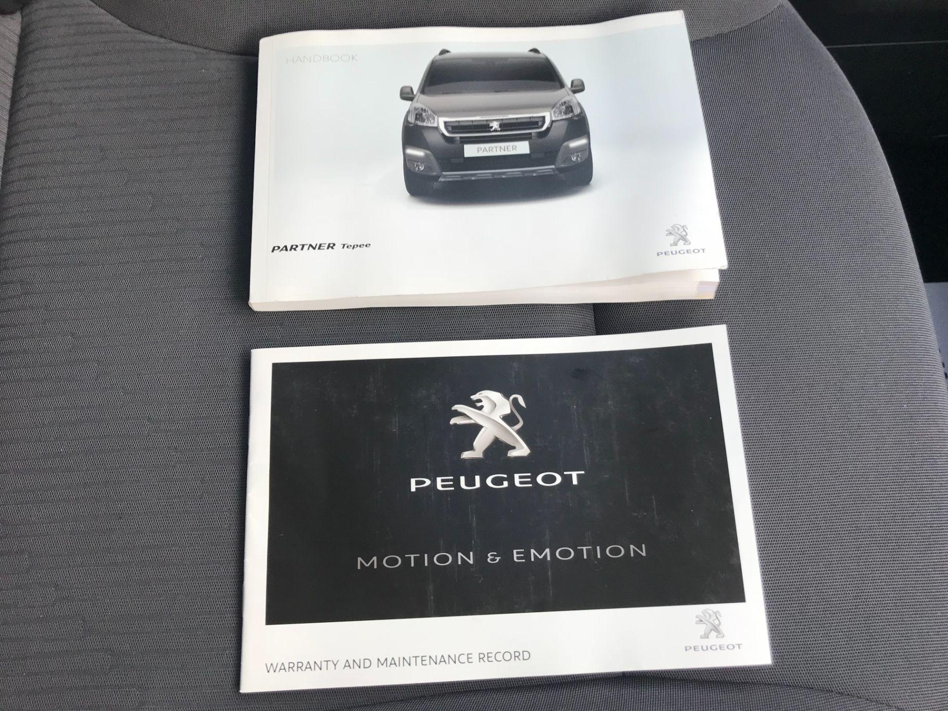 2016 Peugeot Partner 715 S 1.6 Hdi 92 Crew Van (NU66GHZ) Image 41