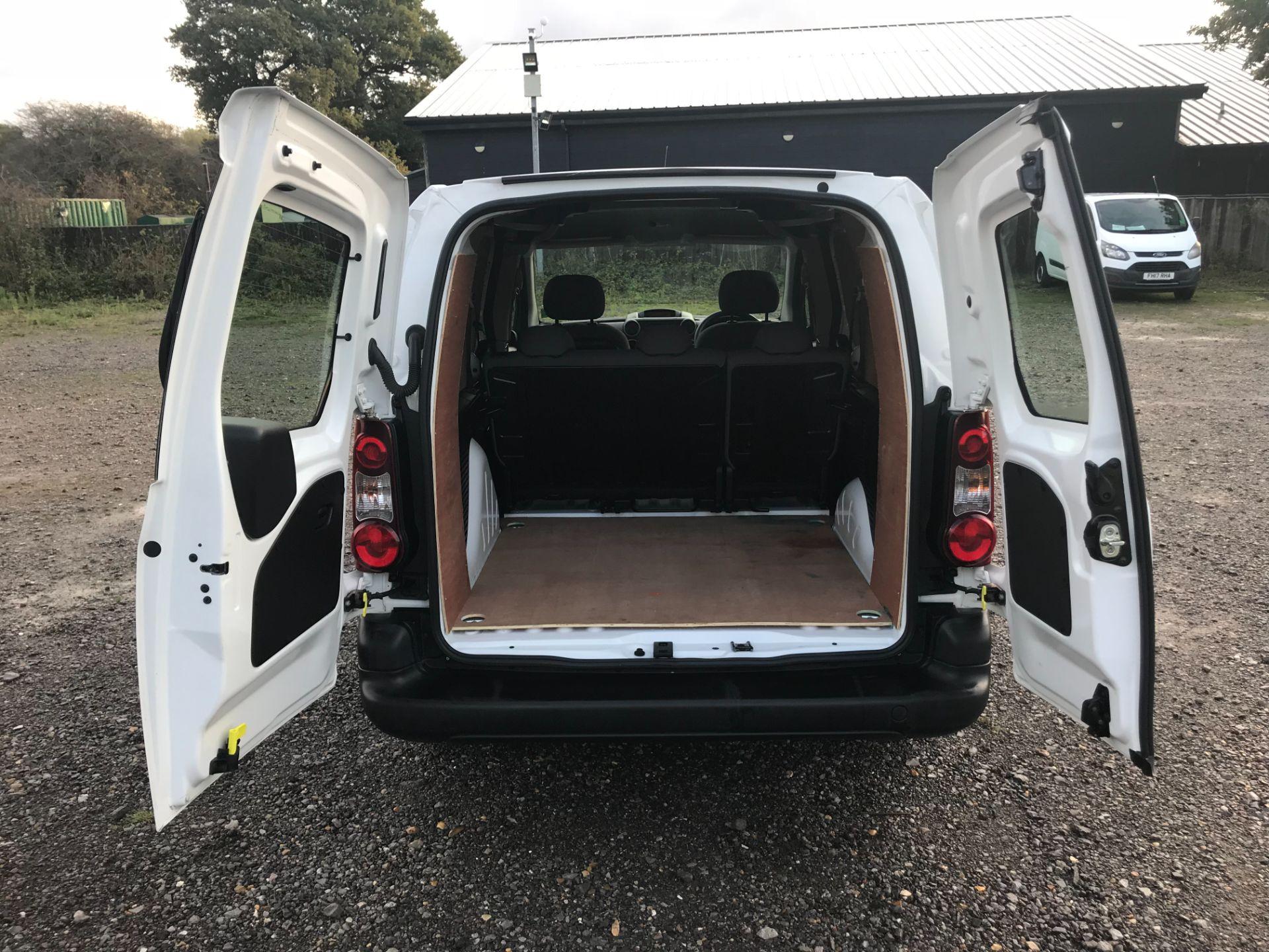 2016 Peugeot Partner 715 S 1.6 Hdi 92 Crew Van (NU66GHZ) Image 11