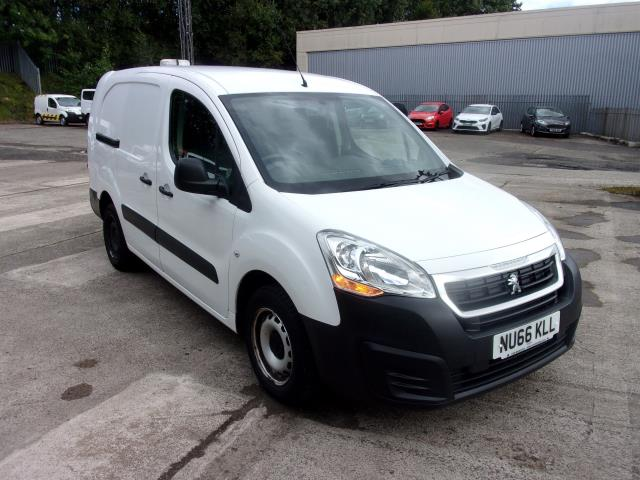 2016 Peugeot Partner L2 715 S 1.6 HDI 100PS CREW VAN EURO 6 *LIMITED TO 67MPH* (NU66KLL) Image 1