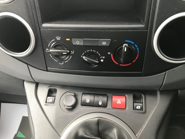 2016 Peugeot Partner L2 715 S 1.6 92PS CREW VAN EURO 5 (NU66KME) Image 30