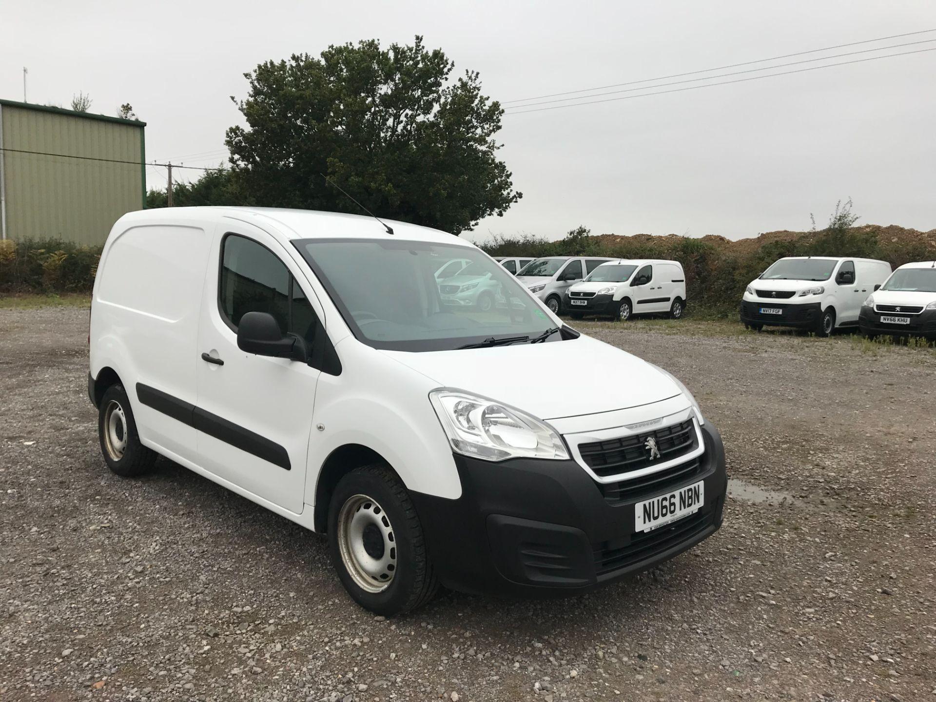 2016 Peugeot Partner 850 S 1.6 Hdi 92 Van [Sld] (NU66NBN)
