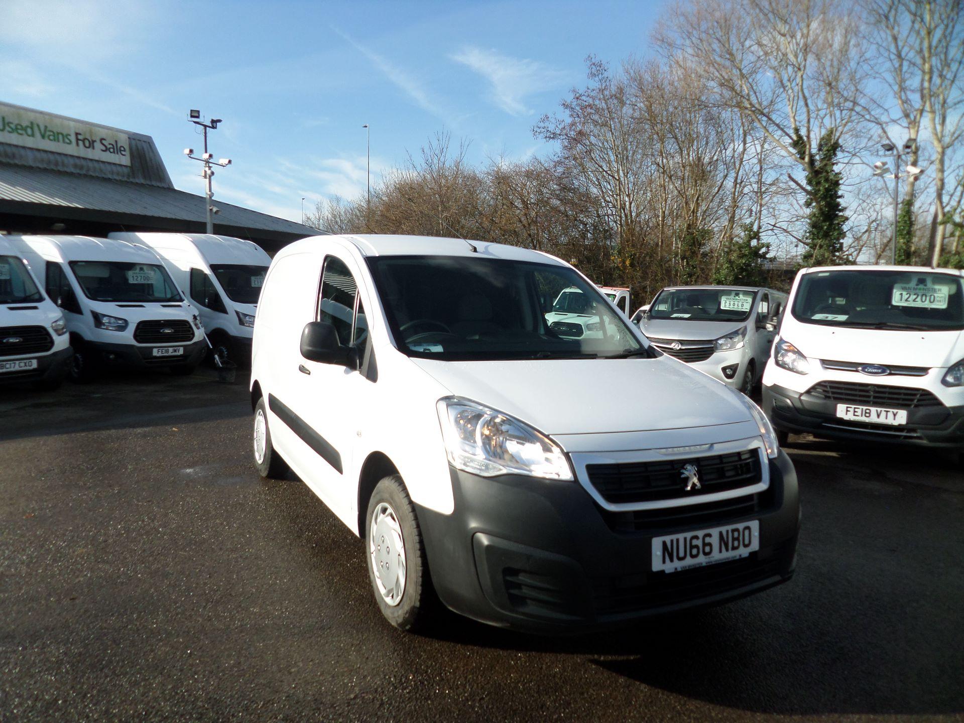 2016 Peugeot Partner 850 S 1.6 Hdi 92 Van [Sld] Euro 5 (NU66NBO)