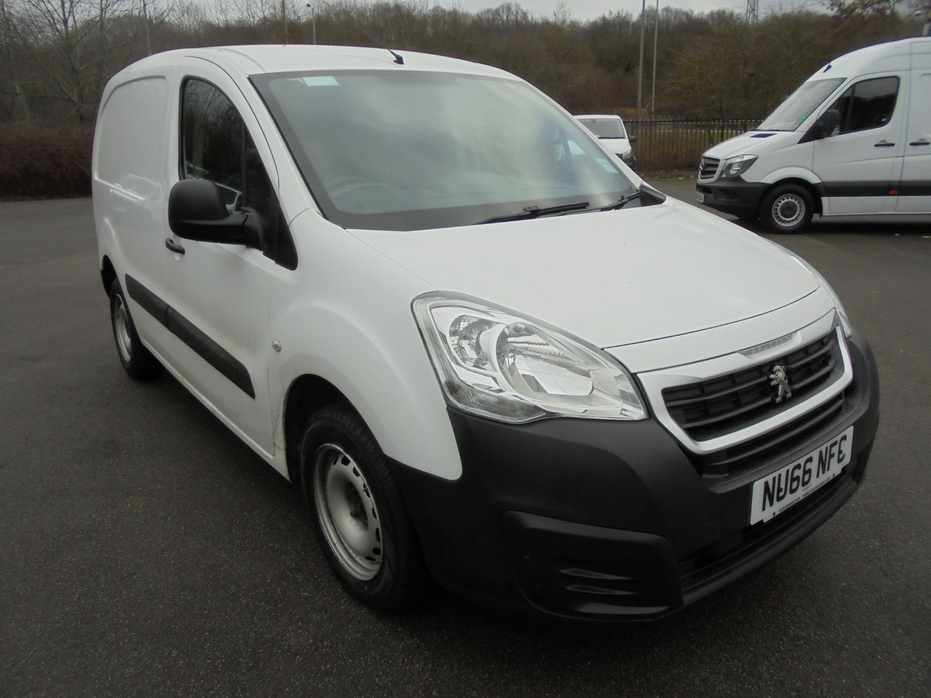 2016 Peugeot Partner 850 S 1.6 Hdi 92 Van [Sld] (NU66NFC)
