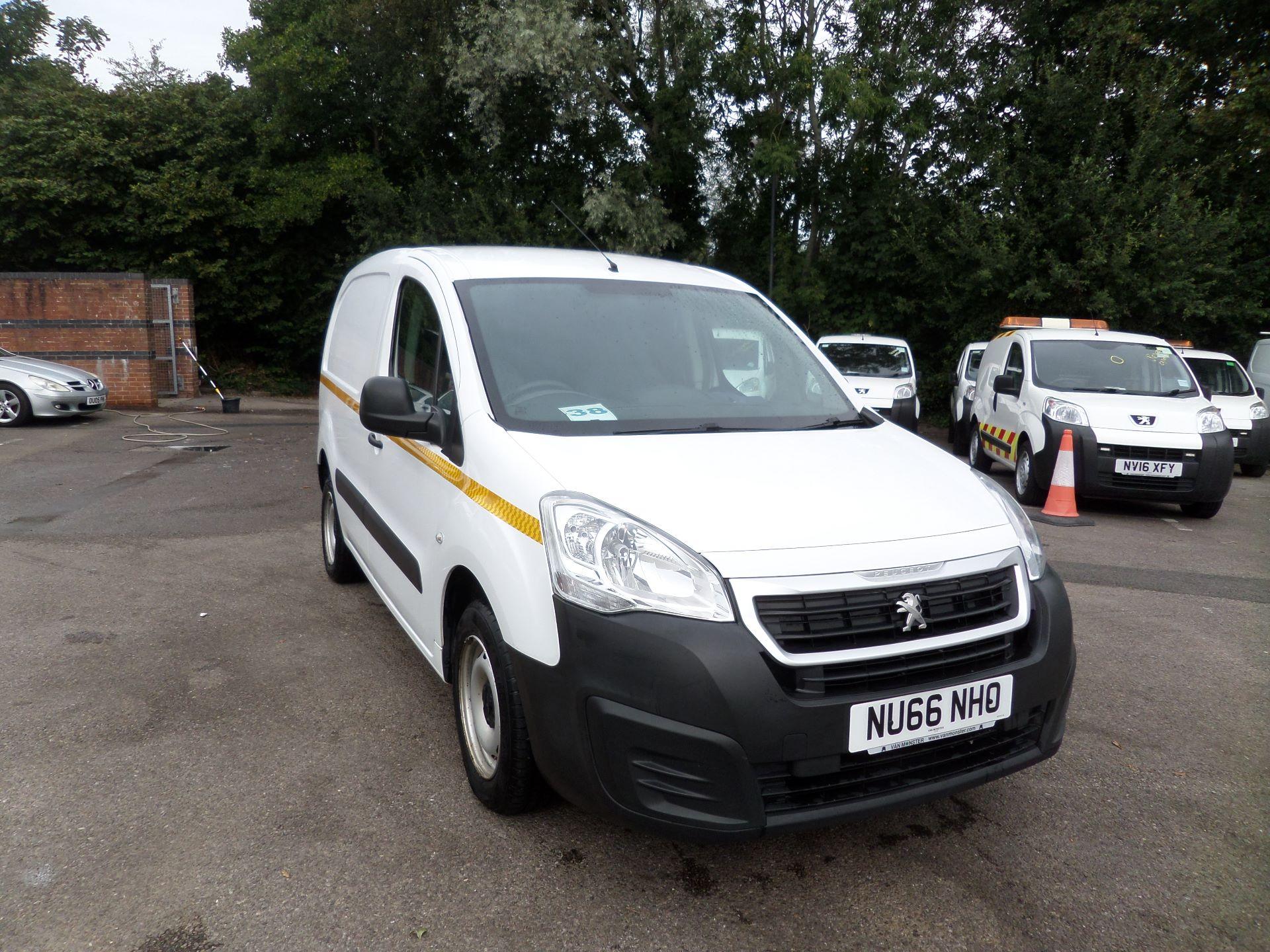 2016 Peugeot Partner 850 S 1.6 Hdi 92 Van [Sld] Euro 5 (NU66NHO)