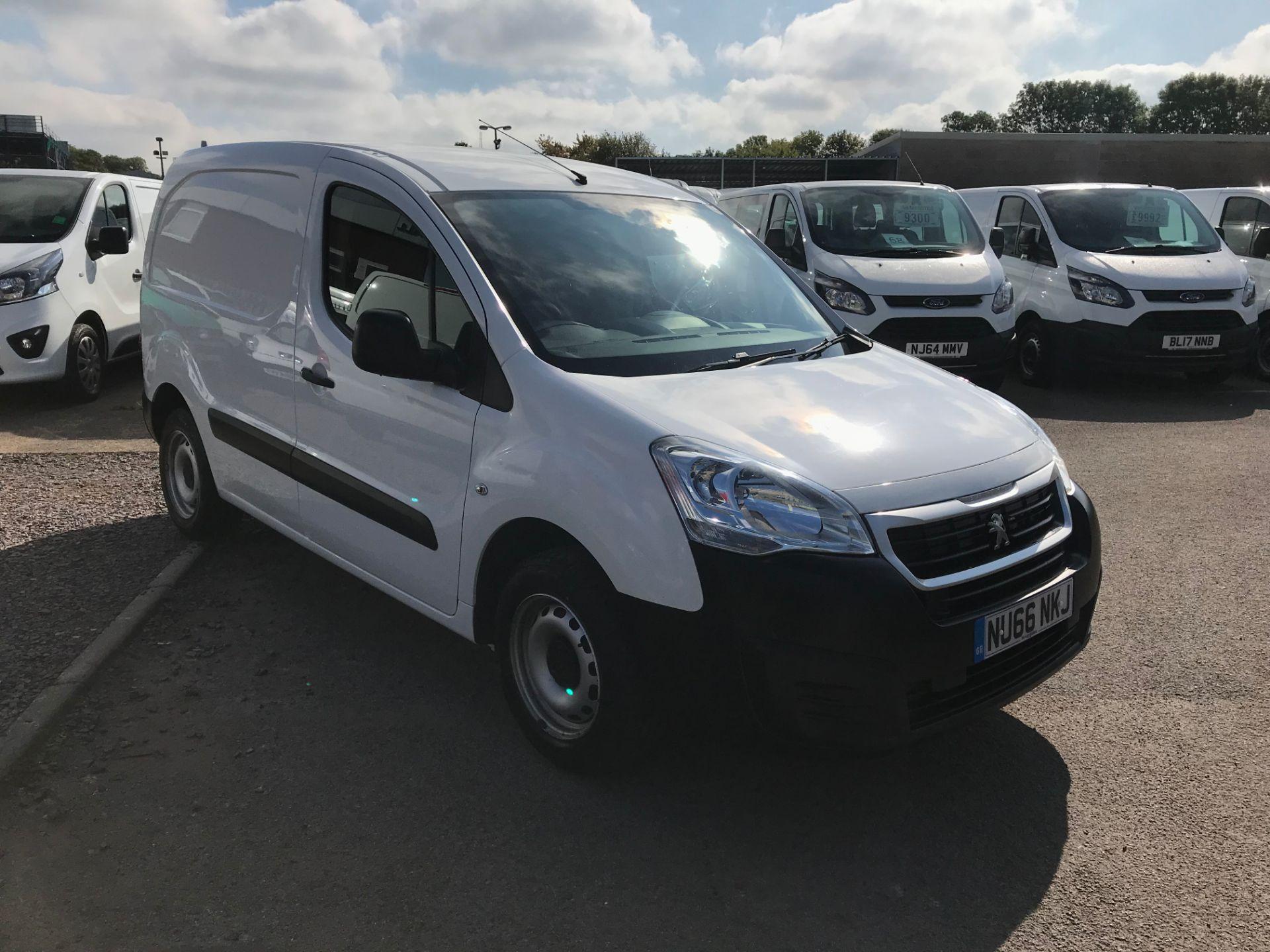2016 Peugeot Partner L1 850 S 1.6 92PS [SLD] EURO 5 (NU66NKJ)