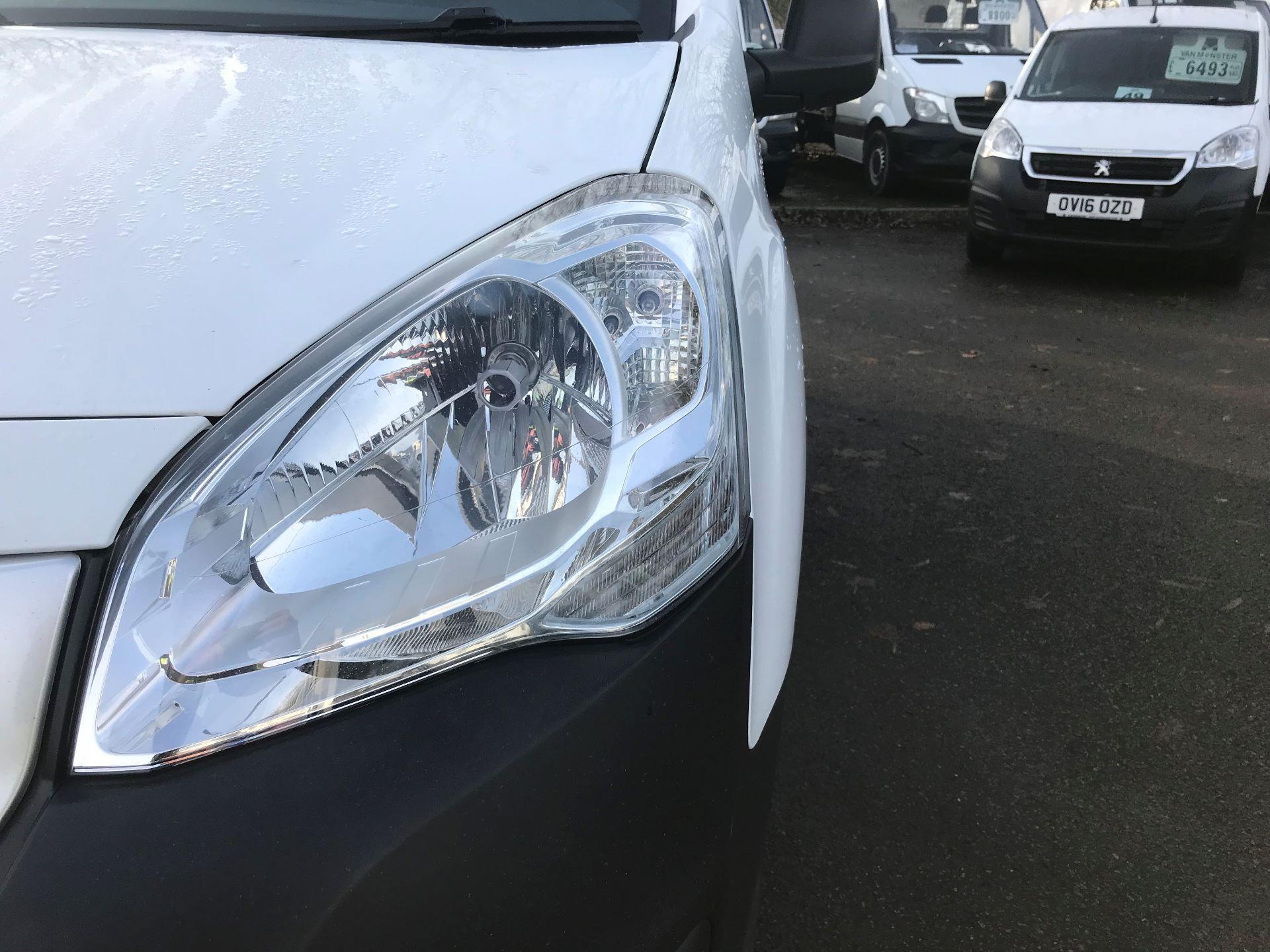 2016 Peugeot Partner L1 850 S 1.6 92PS [SLD] EURO 5 (NU66NKP) Image 14