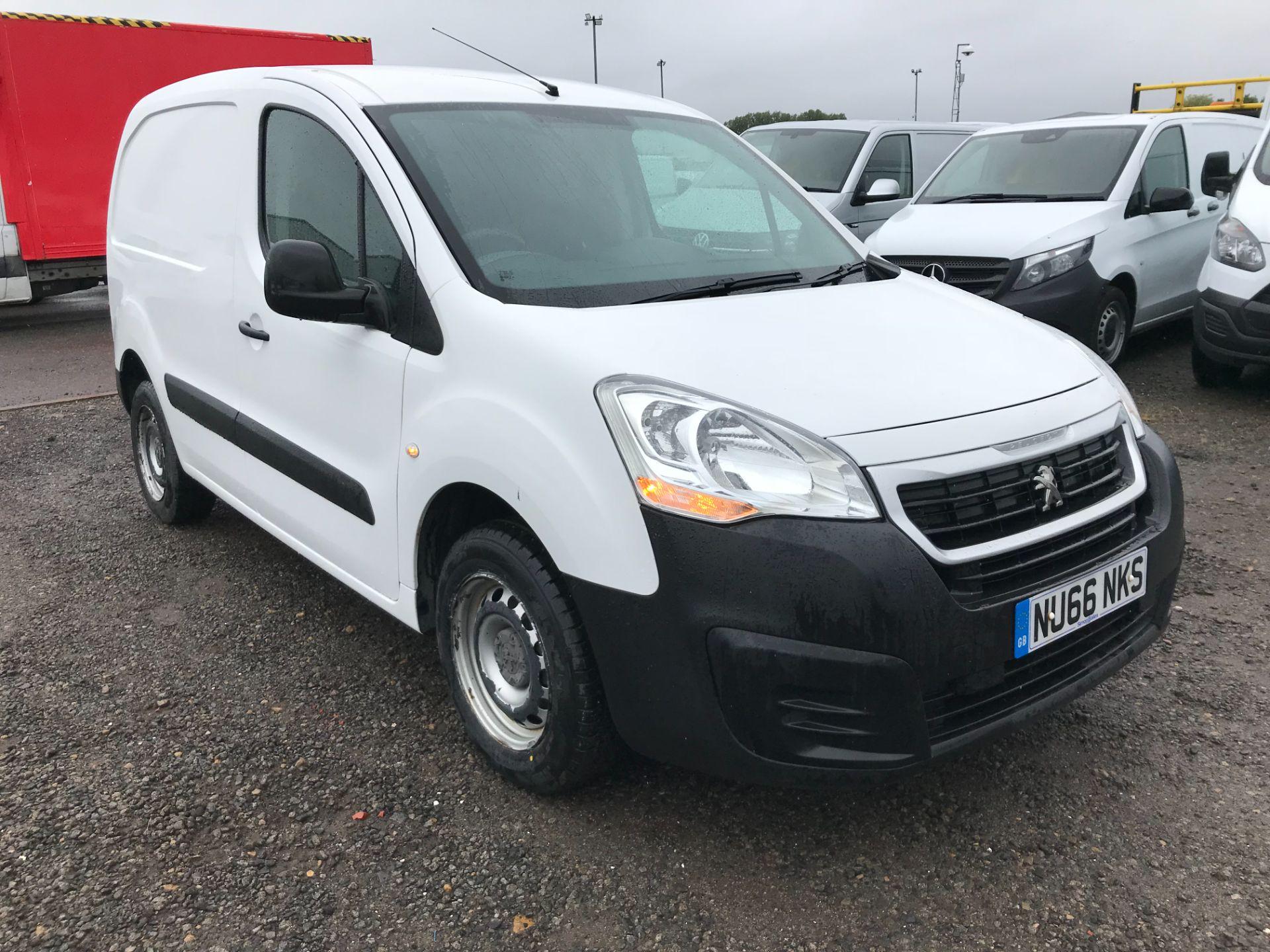 2016 Peugeot Partner 850 S 1.6 Hdi 92 Van [Sld] (NU66NKS)
