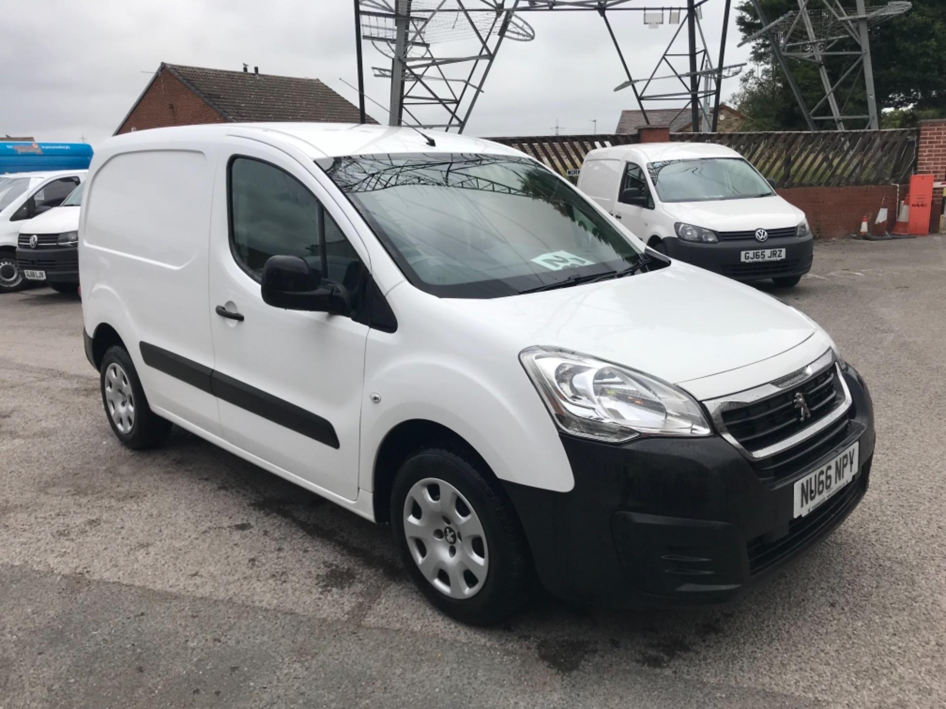 2016 Peugeot Partner 850 S 1.6 Hdi 92 Van [Sld] (NU66NPY)