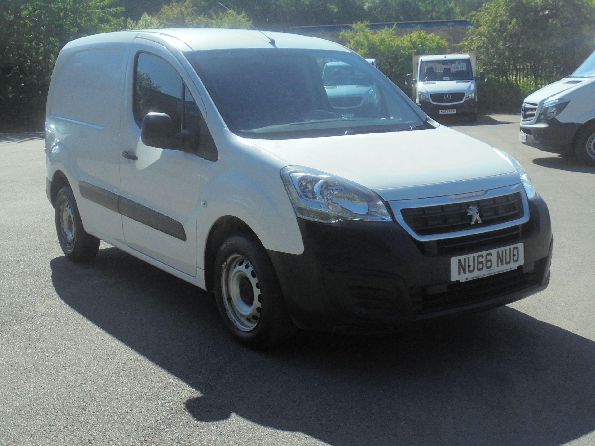 2016 Peugeot Partner 850 S 1.6 Hdi 92 Van [Sld] (NU66NUO)