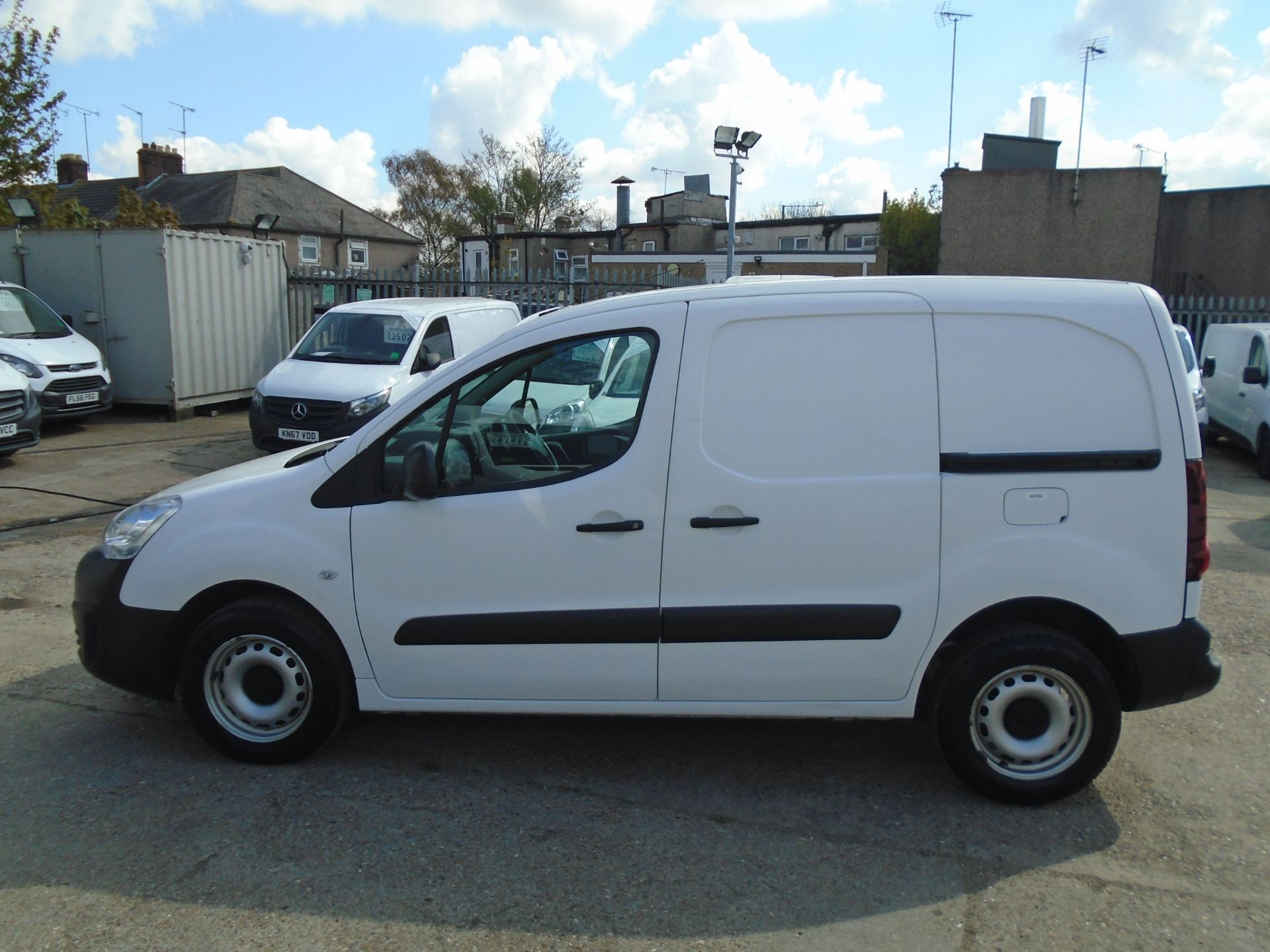 2016 Peugeot Partner 850 S 1.6 Hdi 92 Van [Sld] (NU66NVT) Image 7