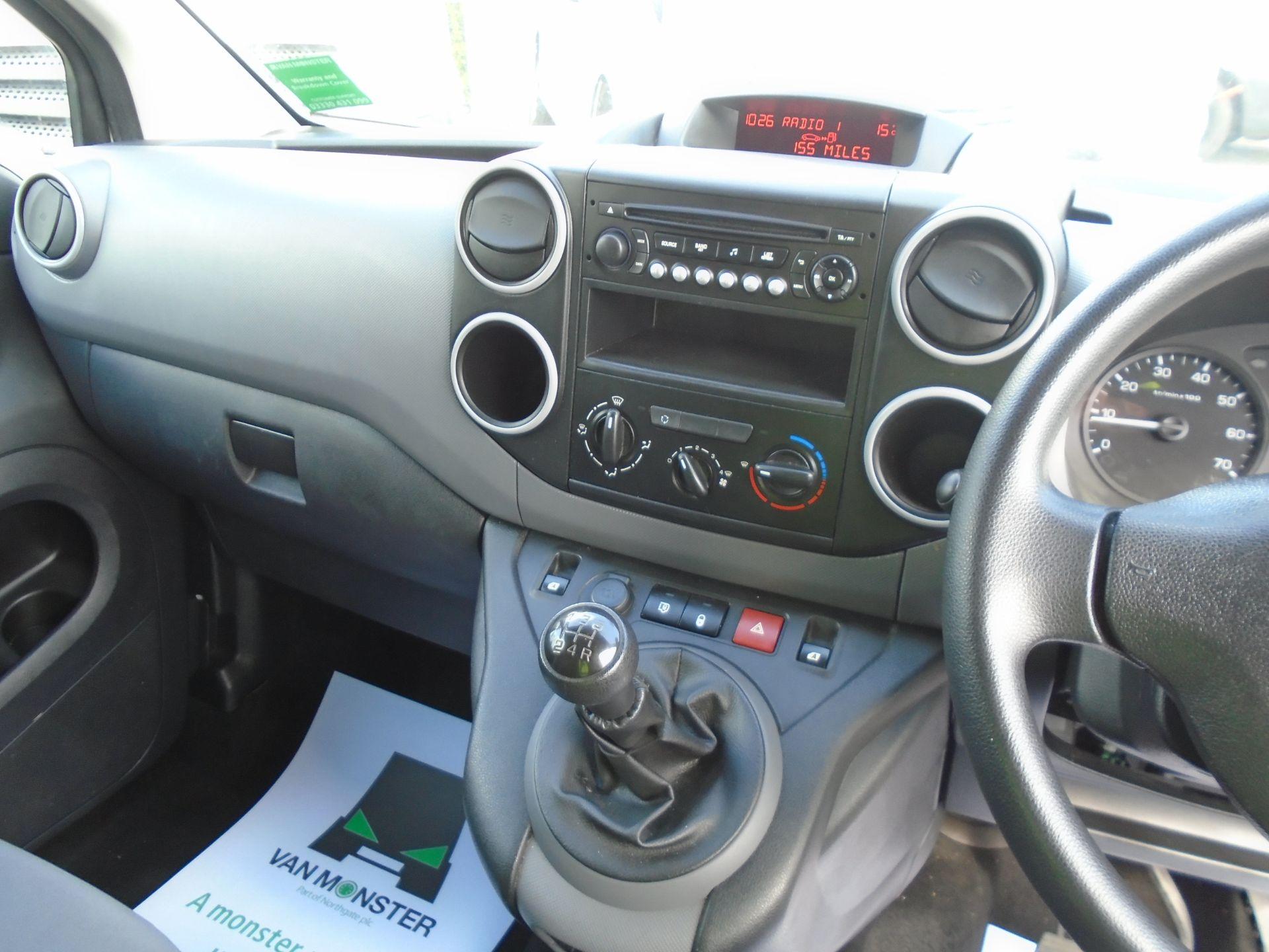 2016 Peugeot Partner 850 S 1.6 Hdi 92 Van [Sld] (NU66NVT) Image 18