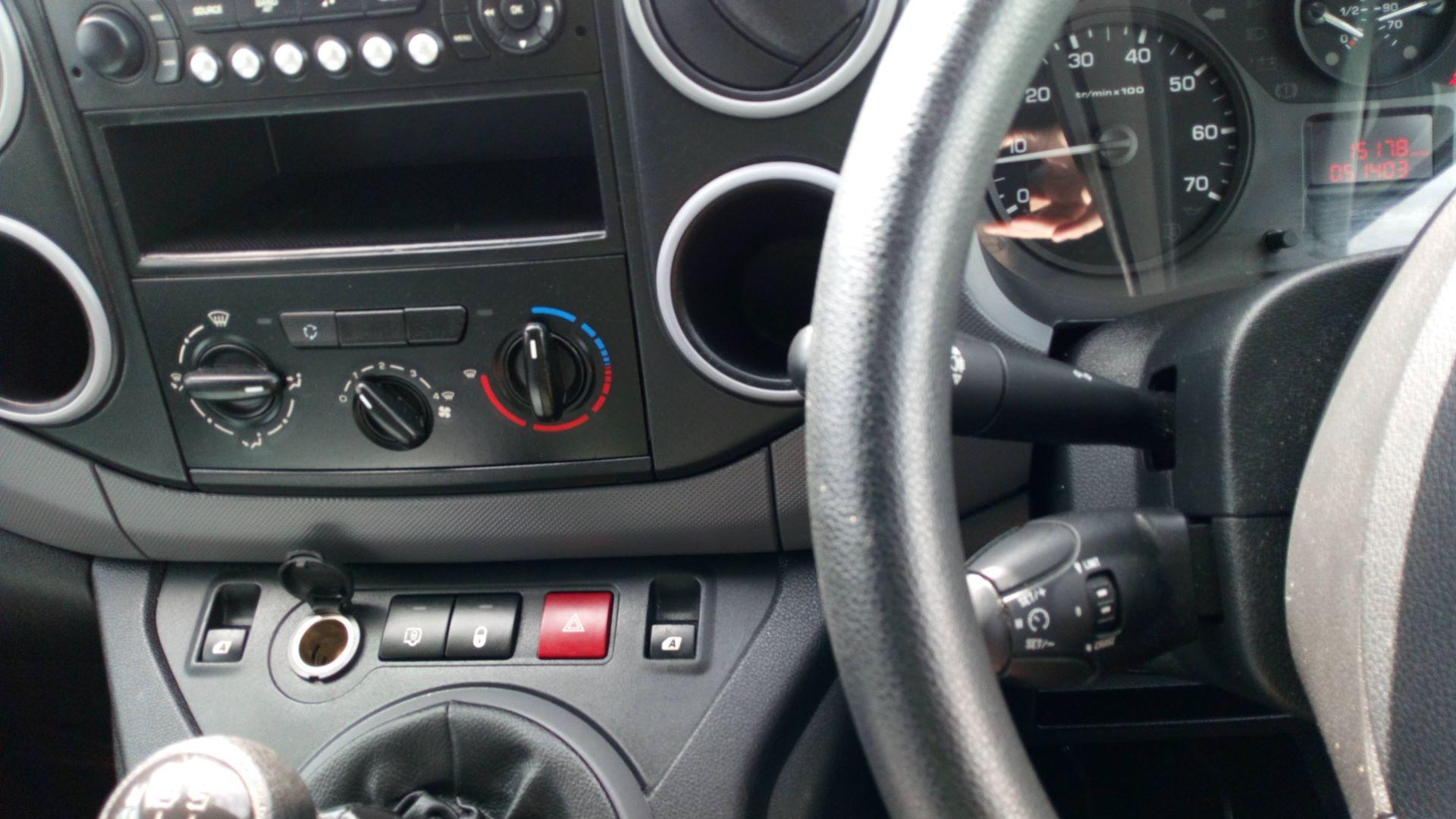 2016 Peugeot Partner 850 Se 1.6 Hdi 92 Van (NU66UTF) Image 15