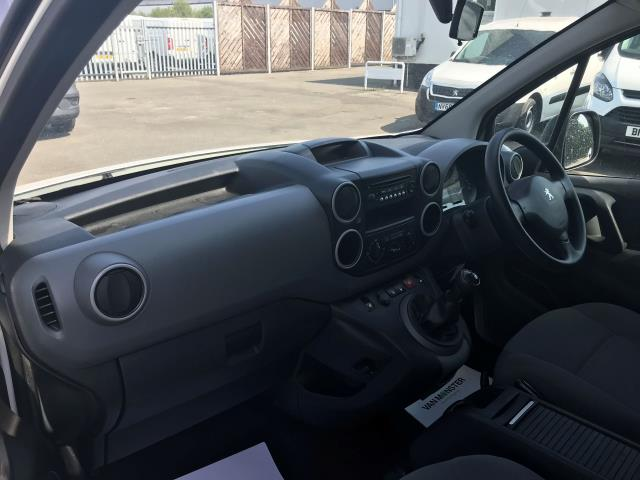 2016 Peugeot Partner  L2 715 S 1.6 92PS CREW VAN EURO 6 (NU66UXZ) Image 16