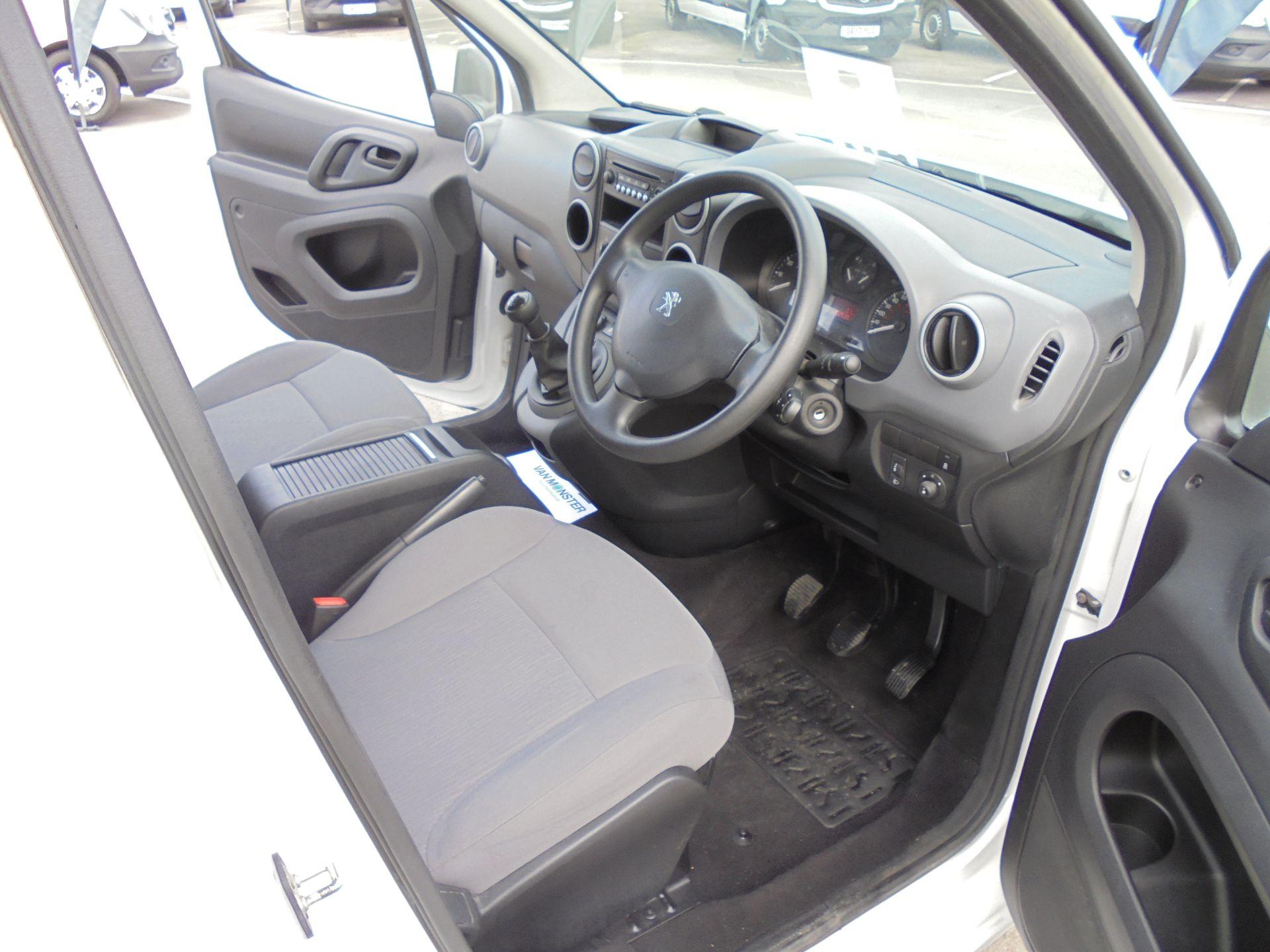 2016 Peugeot Partner 850 S 1.6 Hdi 92 Van [Sld] (NU66VWW) Image 9
