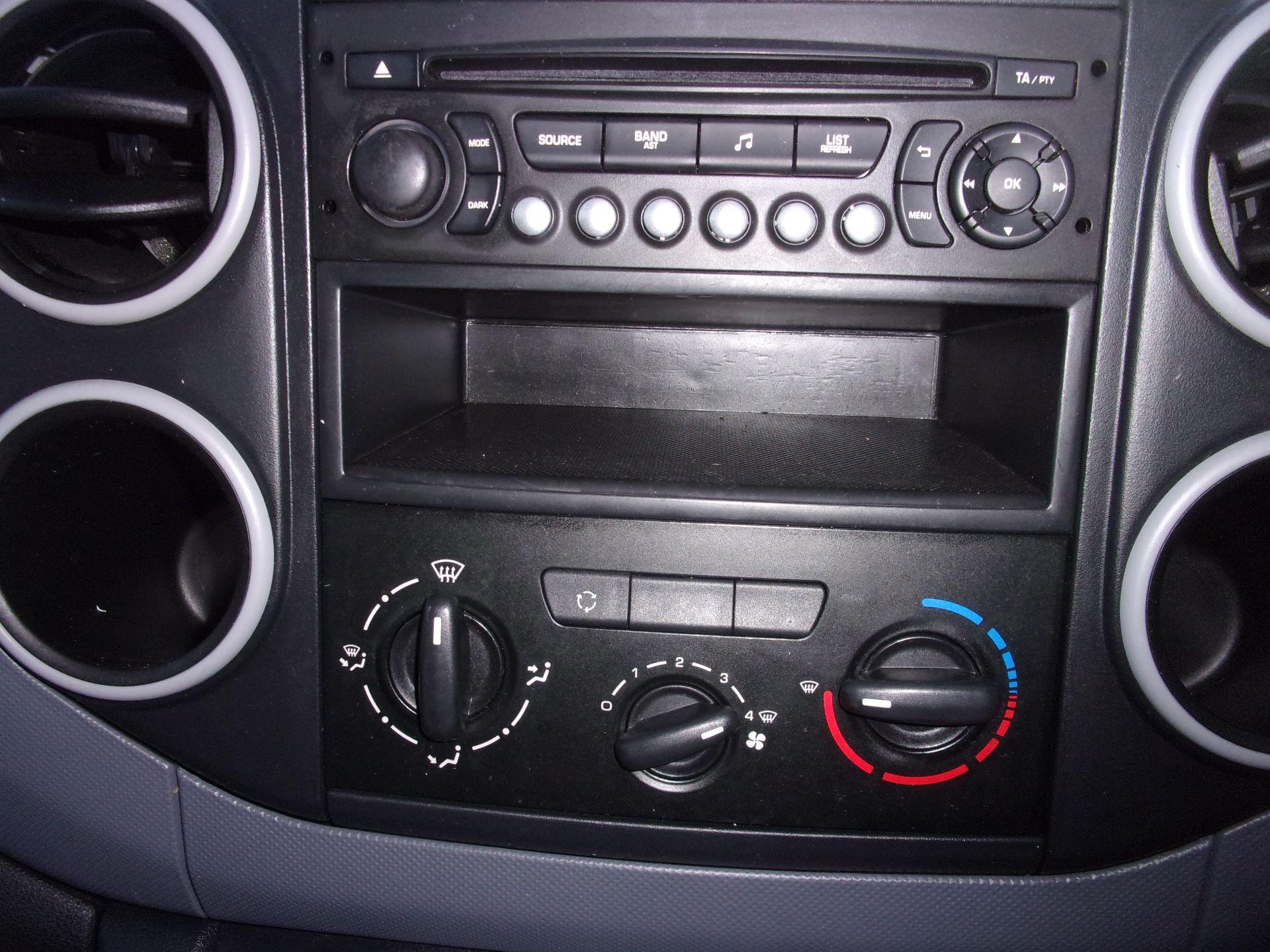 2016 Peugeot Partner L1 850 S 1.6 HDI 92PS (SLD) EURO 5 (NU66VXP) Image 11