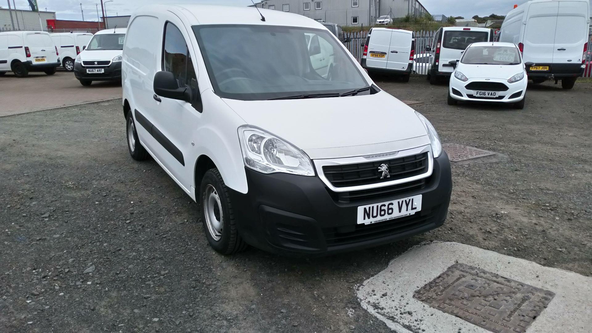 2016 Peugeot Partner 850 S 1.6 Hdi 92 Van [Sld] (NU66VYL)