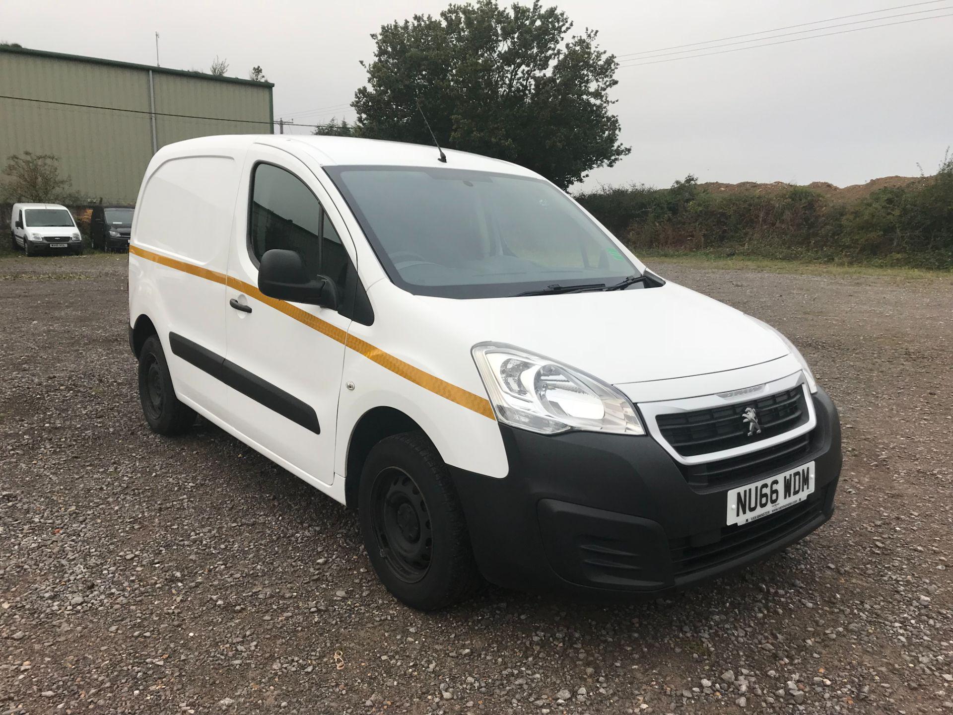 2016 Peugeot Partner 850 S 1.6 Hdi 92 Van [Sld] (NU66WDM)