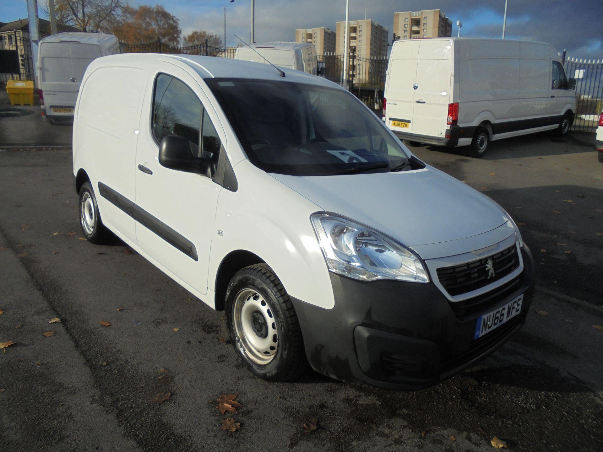 2016 Peugeot Partner 850 S 1.6 Hdi 92 Van [Sld] (NU66WFE)
