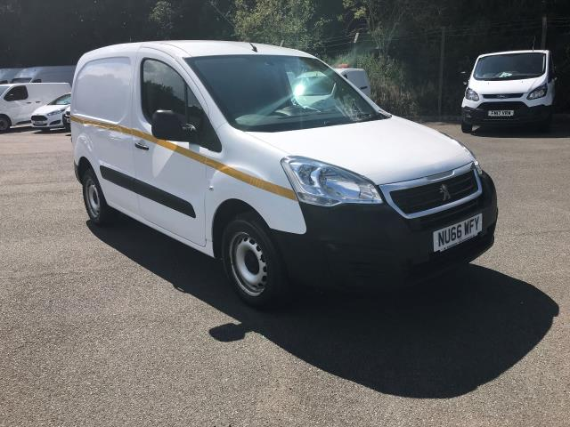 2016 Peugeot Partner  L1 850 1.6 92PS EURO 5 (NU66WFY)