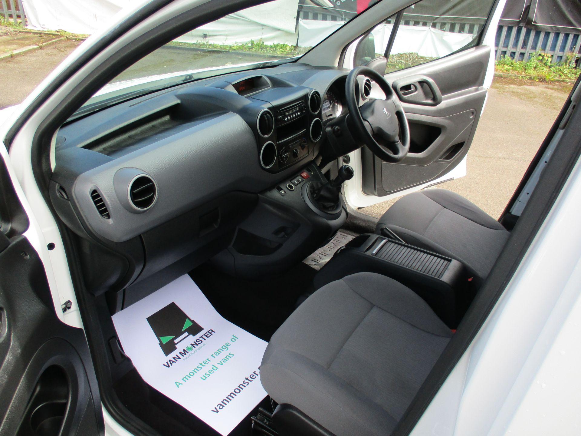 2016 Peugeot Partner 850 S 1.6 Hdi 92 Van [Sld] (NU66WHP) Image 16