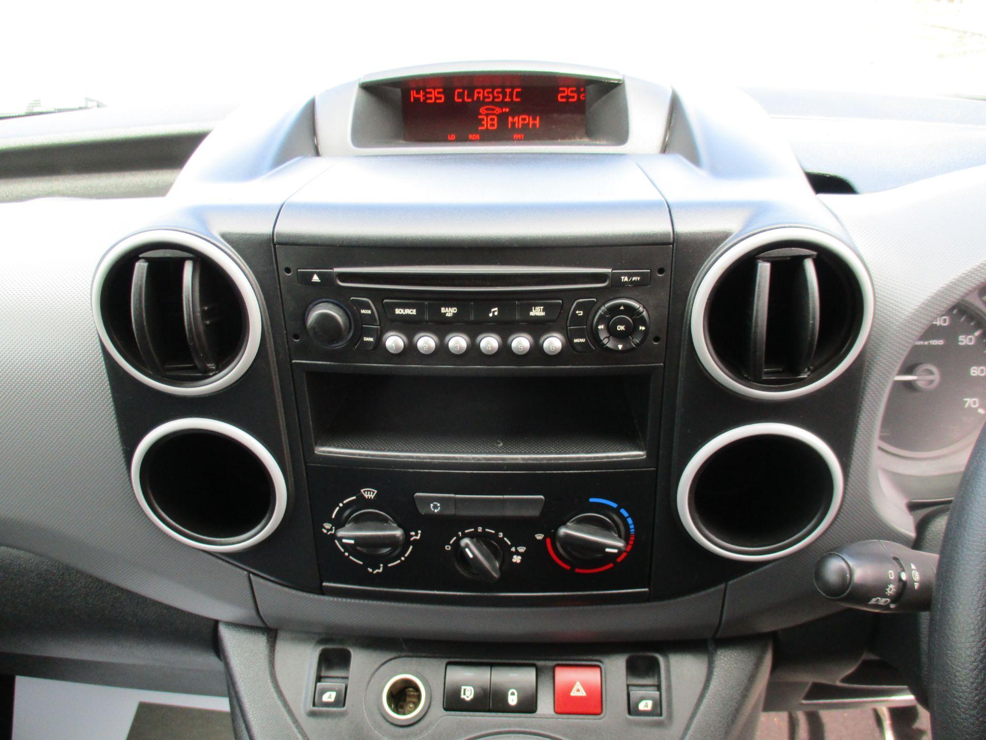 2016 Peugeot Partner 850 S 1.6 Hdi 92 Van [Sld] (NU66WHP) Image 14