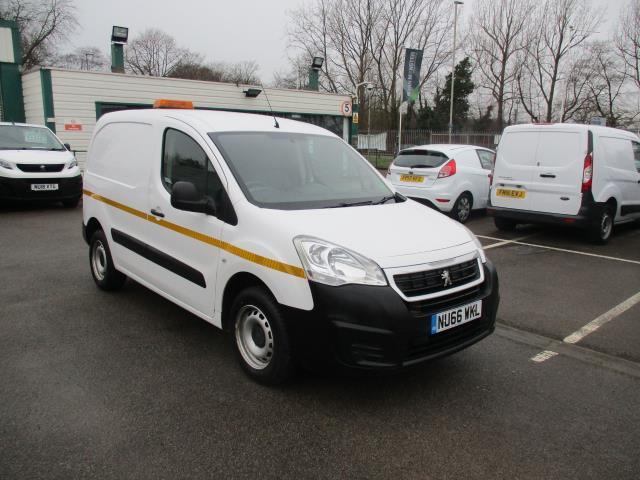 2016 Peugeot Partner 850 S 1.6 Hdi 92 Van [Sld] (NU66WKL)