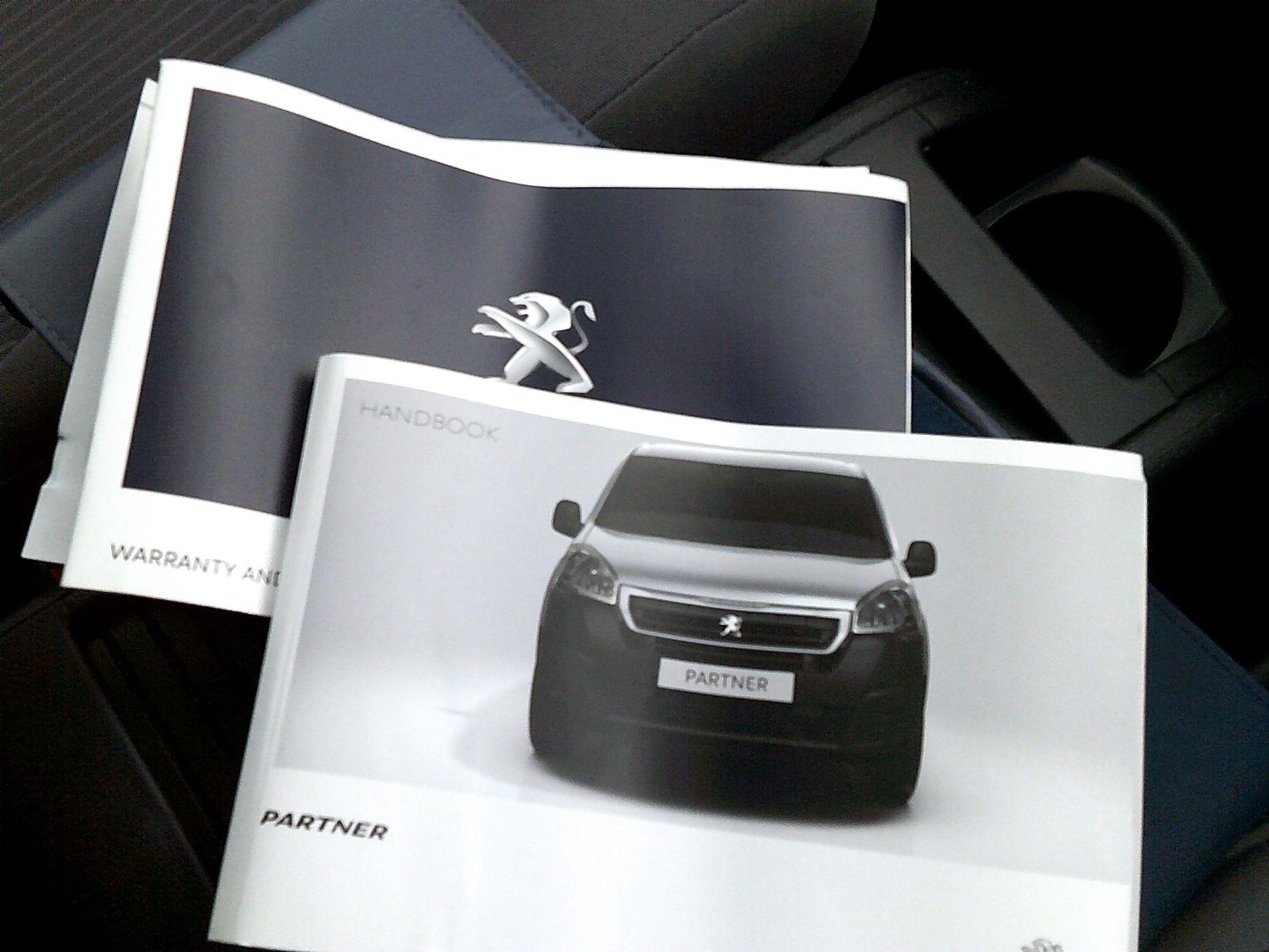 2016 Peugeot Partner L2 715 S 1.6 BLUEHDI 100 CREW VAN EURO 6 *SPEED RESTRICTED TO 56MPH* (NU66WKZ) Image 25