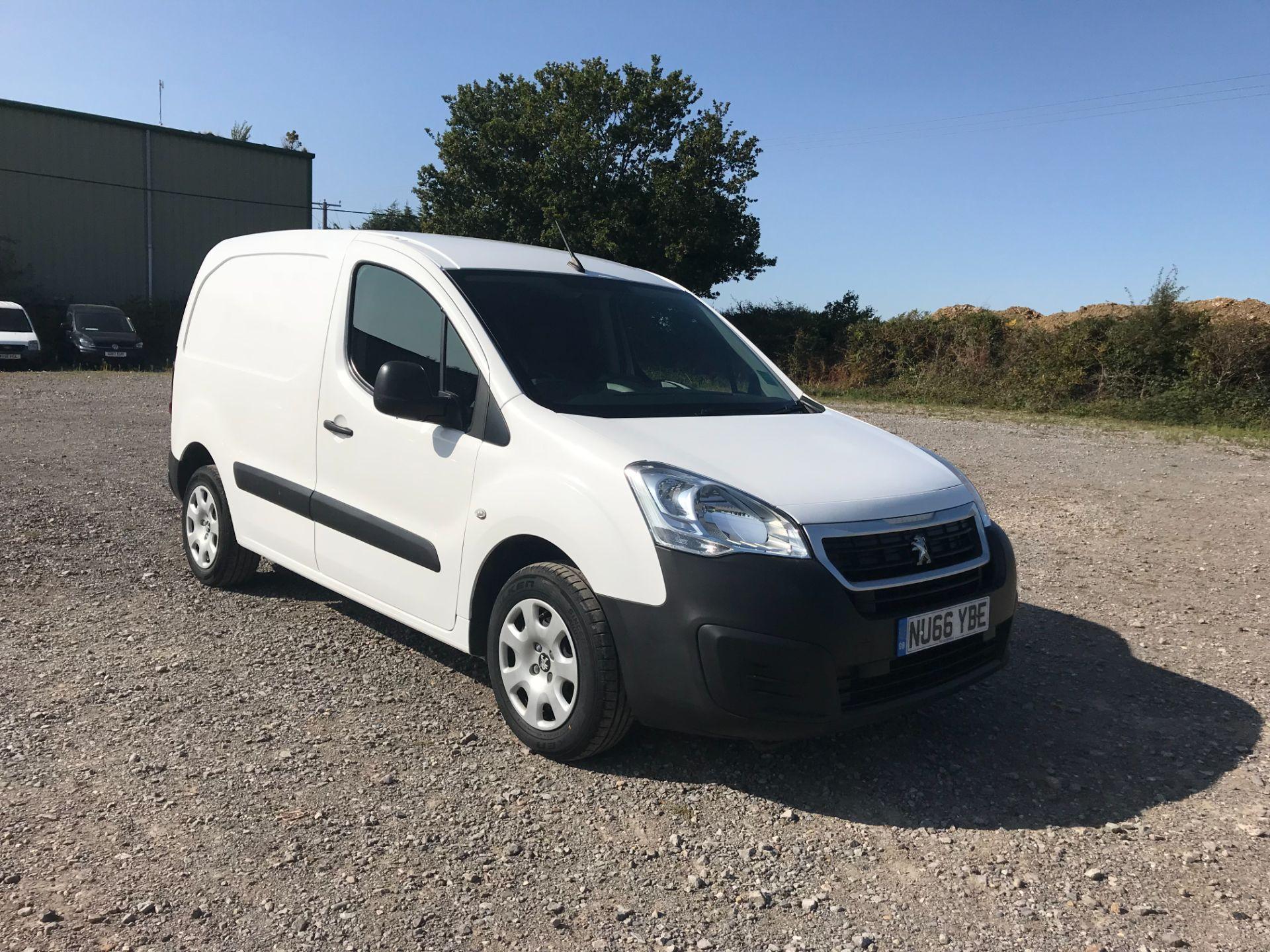2016 Peugeot Partner 850 1.6 Bluehdi 100 Professional Van [Non Ss] (NU66YBE)