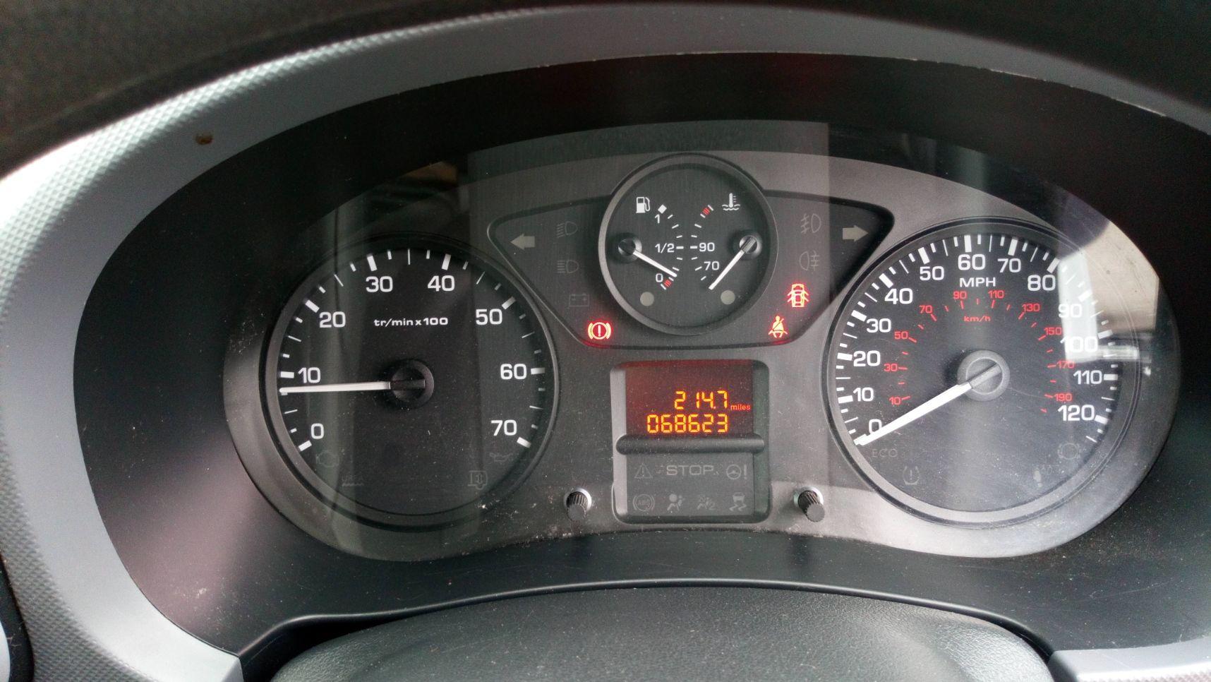 2016 Peugeot Partner 850 S 1.6 Bluehdi 100 Van [Sld] (NU66ZFL) Image 13