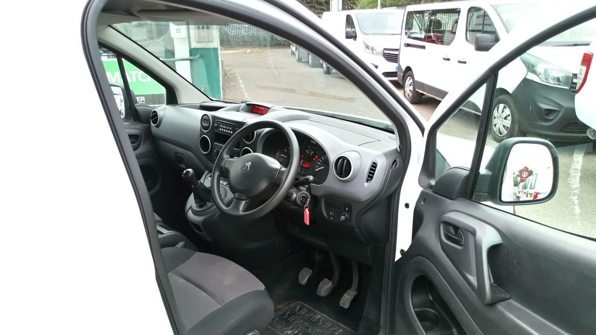 2016 Peugeot Partner 850 S 1.6 Bluehdi 100 Van [Sld] (NU66ZFL) Image 11