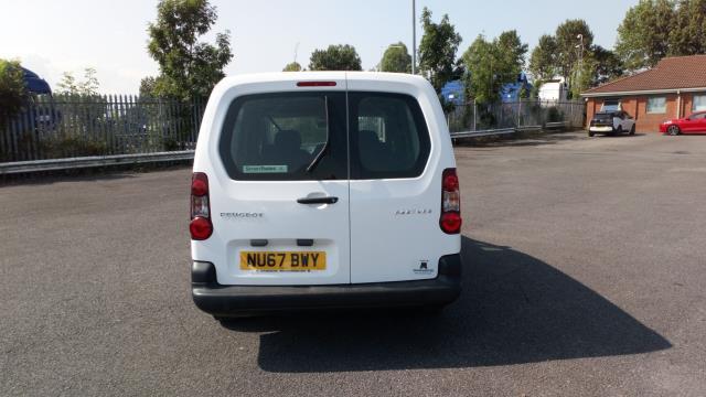 2017 Peugeot Partner 715 S 1.6 Bluehdi 100 Crew Van (NU67BWY) Image 6