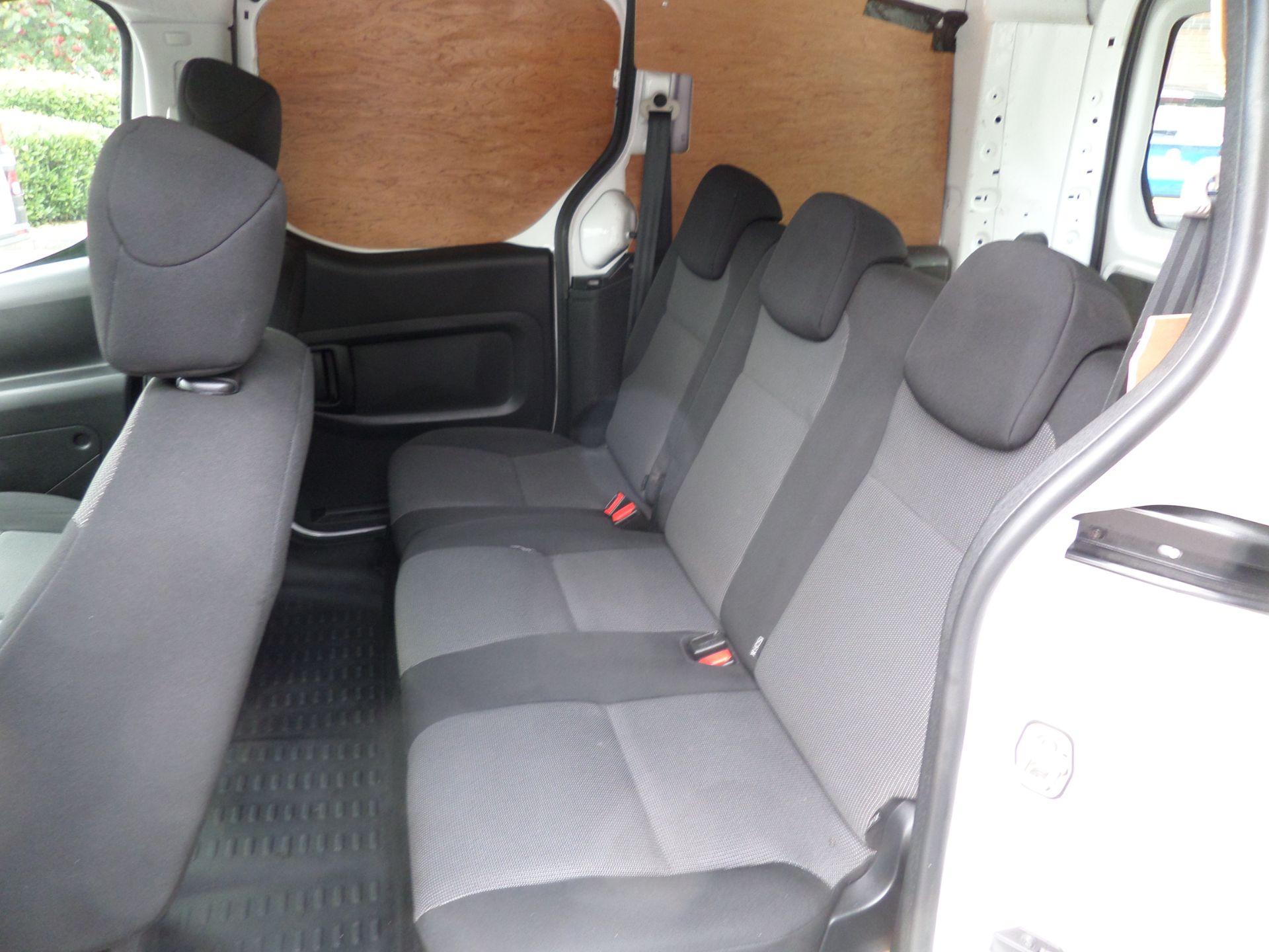 2017 Peugeot Partner 715 S 1.6 Bluehdi 100 Crew Van Euro 6 ( 70MPH Restricted) (NU67BXB) Image 9