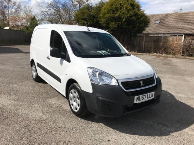 2017 Peugeot Partner 850 1.6 Bluehdi 100 Professional Van [Non Ss] Euro 6 (Speed Limited To 70MPH) (NU67LLN) Image 1