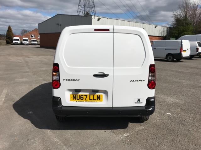 2017 Peugeot Partner 850 1.6 Bluehdi 100 Professional Van [Non Ss] Euro 6 (Speed Limited To 70MPH) (NU67LLN) Image 6