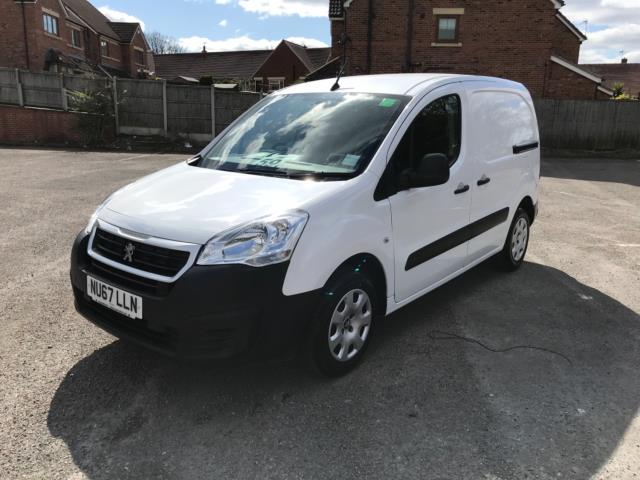2017 Peugeot Partner 850 1.6 Bluehdi 100 Professional Van [Non Ss] Euro 6 (Speed Limited To 70MPH) (NU67LLN) Image 3