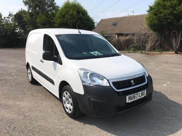 2017 Peugeot Partner 850 1.6 Bluehdi 100 Professional Van [Non Ss] Euro 6 (NU67LWG)