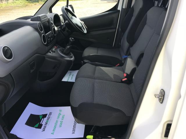 2017 Peugeot Partner L1 850 1.6 BLUEHDI 100 PROFESSIONAL (NON S/S)EURO 6 (NU67NPY) Image 15