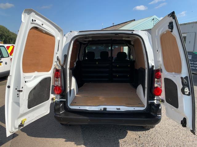 2017 Peugeot Partner 850 1.6 Bluehdi 100 Professional Van [Non Ss] (NU67NXX) Image 10