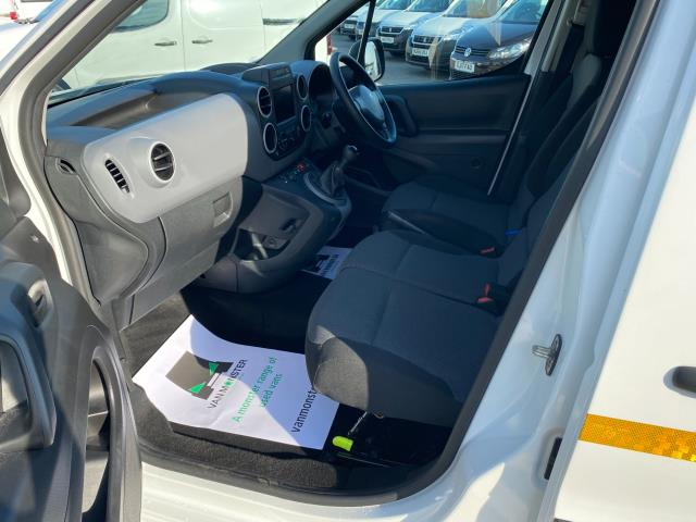 2017 Peugeot Partner 850 1.6 Bluehdi 100 Professional Van [Non Ss] (NU67OAX) Image 14
