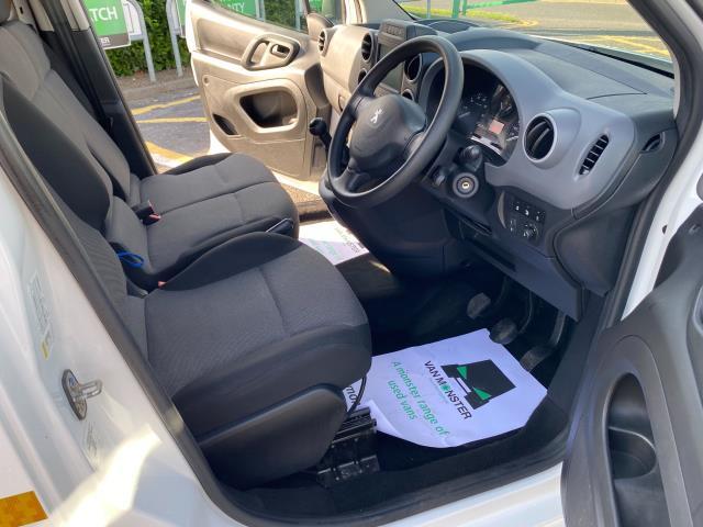 2017 Peugeot Partner 850 1.6 Bluehdi 100 Professional Van [Non Ss] (NU67OAX) Image 13