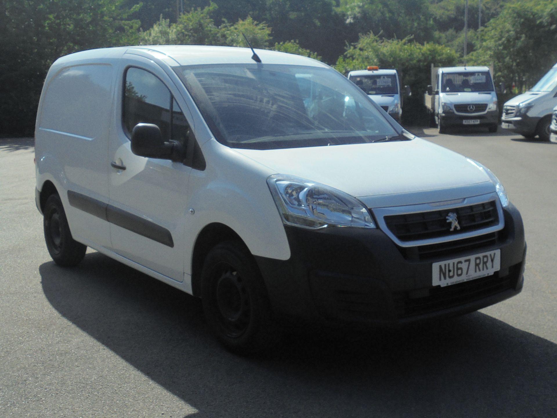 2017 Peugeot Partner 850 1.6 Bluehdi 100 Professional Van [Non Ss] (NU67RRY)