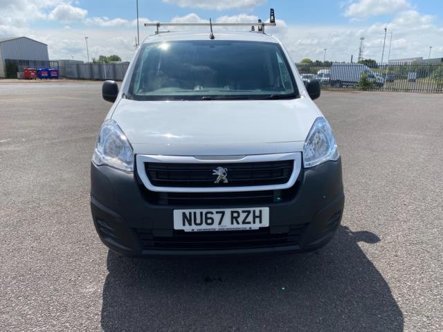2017 Peugeot Partner 850 1.6 Bluehdi 100 Professional Van [Non Ss] (NU67RZH) Image 2