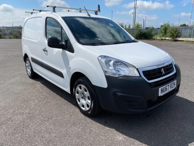 2017 Peugeot Partner 850 1.6 Bluehdi 100 Professional Van [Non Ss] (NU67RZH)