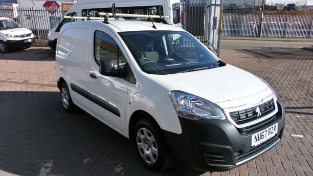 2017 Peugeot Partner 850 1.6 Bluehdi 100 Professional Van [Non Ss] (NU67RZR)