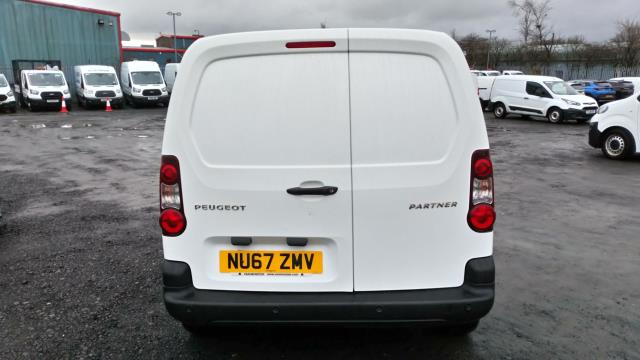 2017 Peugeot Partner 850 1.6 Bluehdi 100 Professional Van [Non Ss] (NU67ZMV) Image 3