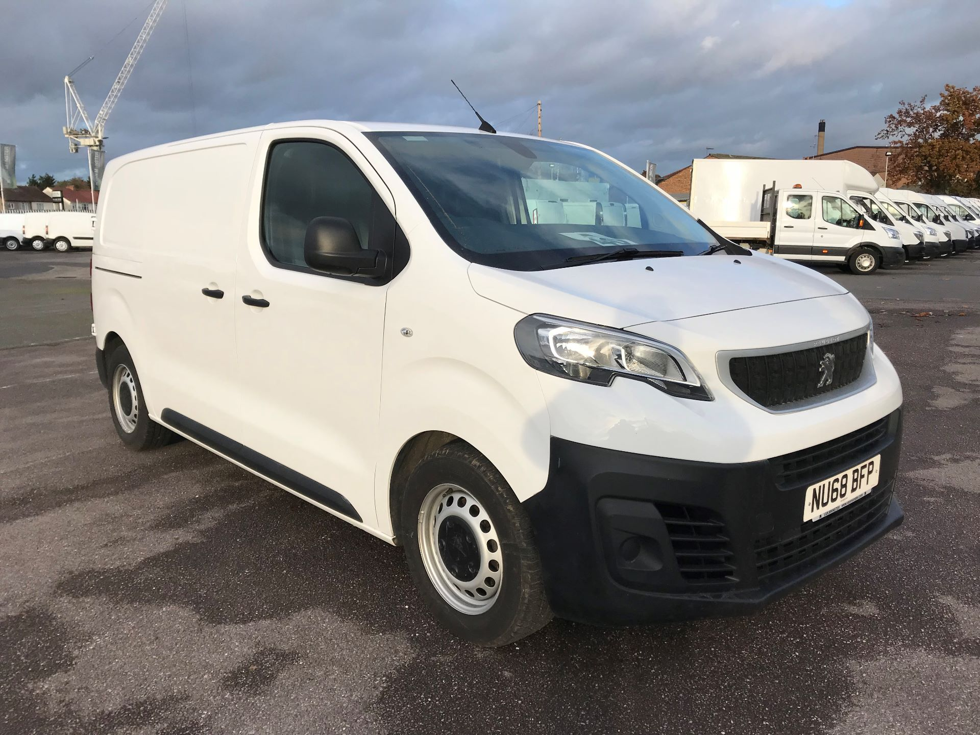 2018 Peugeot Expert   STANDARD 1000 1.6 BLUEHDI 95 PROFFESSIONAL EURO 6 (NU68BFP)