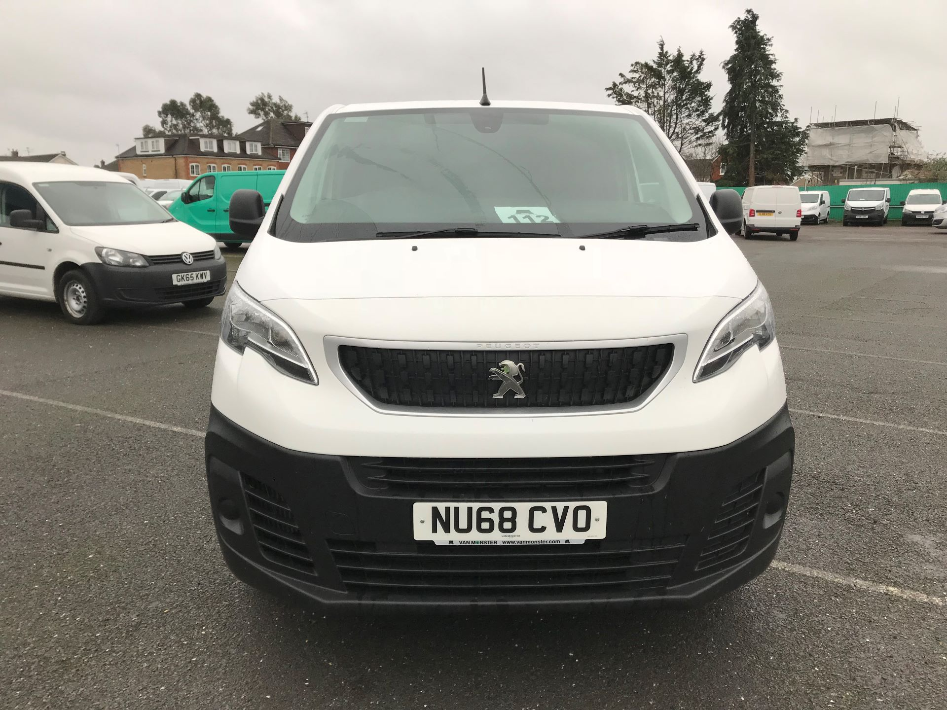 2018 Peugeot Expert   STANDARD 1000 1.6 BLUEHDI 95 PROFFESSIONAL EURO 6 (NU68CVO) Image 3